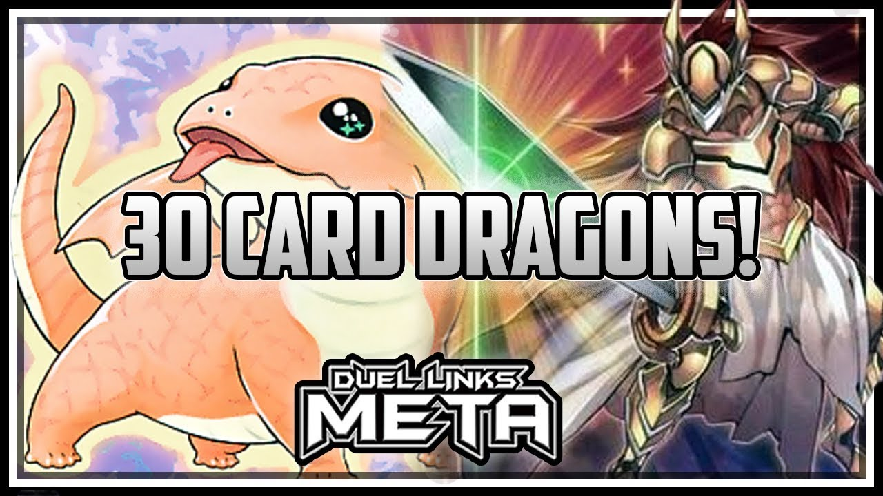 30 Card Grass Dragons! [Yu-Gi-Oh! Duel Links]