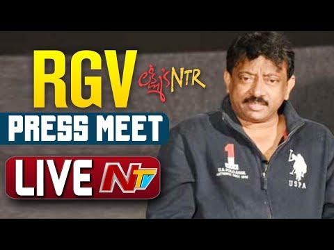 Ram Gopal Varma Press Meet LIVE | Lakshmi's NTR | NTV LIVE