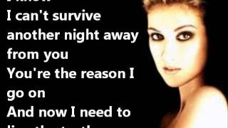 Celine Dion - I SURRENDER+LYRICS mp3