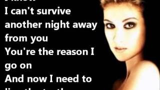Download Celine Dion - I SURRENDER+LYRICS