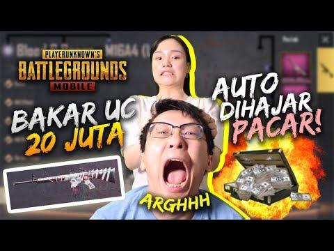 KECIDUK BAKAR UC 20JT RUPIAH DEMI M16A4! AUTO DIHAJAR! - PUBG Mobile Indonesia