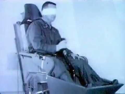 Entrenamientos para ser un astronauta a principios de la era espacial.