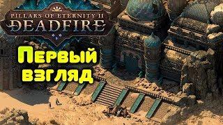 Pillars of Eternity II: Deadfire - первый взгляд на стриме, обзор одной из лучших RPG игр 2018