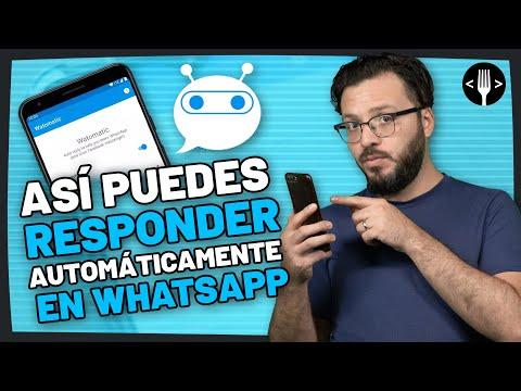 Watomatic, la app para responder mensajes de forma automática en WhatsApp | Servicio de la Comunidad