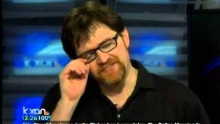 "Author Ernest Cline talks about ""Ready Player One"""