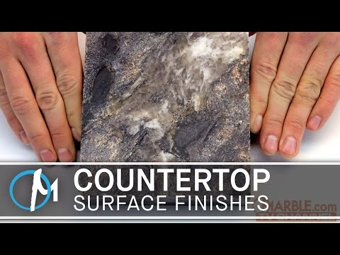 Countertop Surface Finishes for Granite & Marble | Marble.com