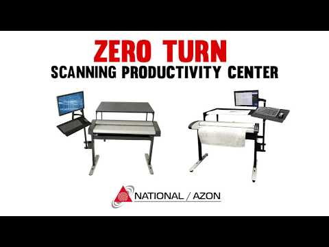 Zero Turn Wide Format Scanner Productivity Center - TAVCO