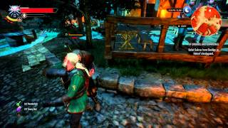 Witcher 3 - Of Swords and Dumplings Quest (Master Blacksmith)