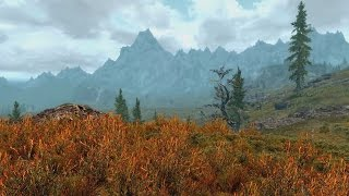 ASMR Let's Play Skyrim #9 - Exploring the Outdoors Part 2