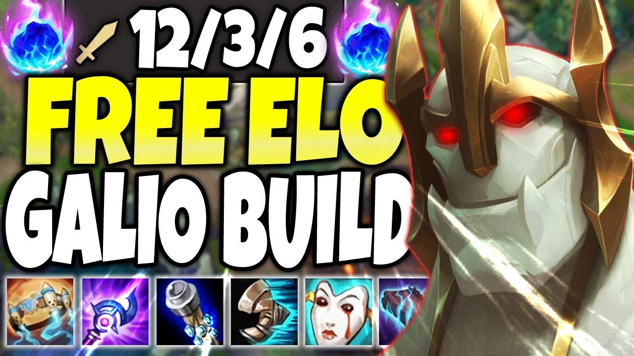 FREE ELO GALIO SEASON 10 BUILD! HOW TO PLAY GALIO & CARRY! TOP LoL Galio vs Malphite s10 Gameplay