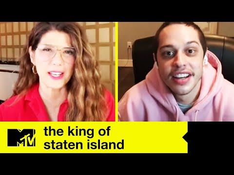 The King Of Staten Island Cast Talk Sex U0026 Pete Davidson On Suicide Squad Vs. Spider-Man   MTV Movies