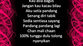 100% Cintaku W.A.R.I.S. Mas Idayu Juzzthin lirik