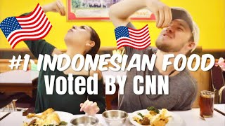 TWO AMERICANS FALLING IN LOVE with Padang Food - Ft. Conner Sullivan