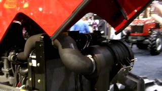 Massey Ferguson HD Series 2600 Utility Tractor debuts at NFMS 2010 (MF 2680 Low Profile)