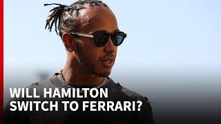 Will Hamilton switch to Ferrari in 2021?
