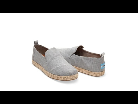 5676d40ae35 TOMS Deconstructed Alpargata Espadrille Flat - YouTube