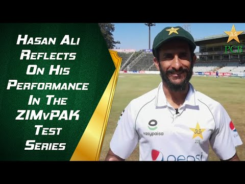 Hasan Ali Reflects On His Performance In The #ZIMvPAK Test Series | PCB | MA2E