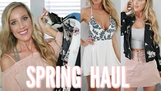 SPRING 2017 CLOTHING HAUL | Forever 21, Windsor, Zara + More!