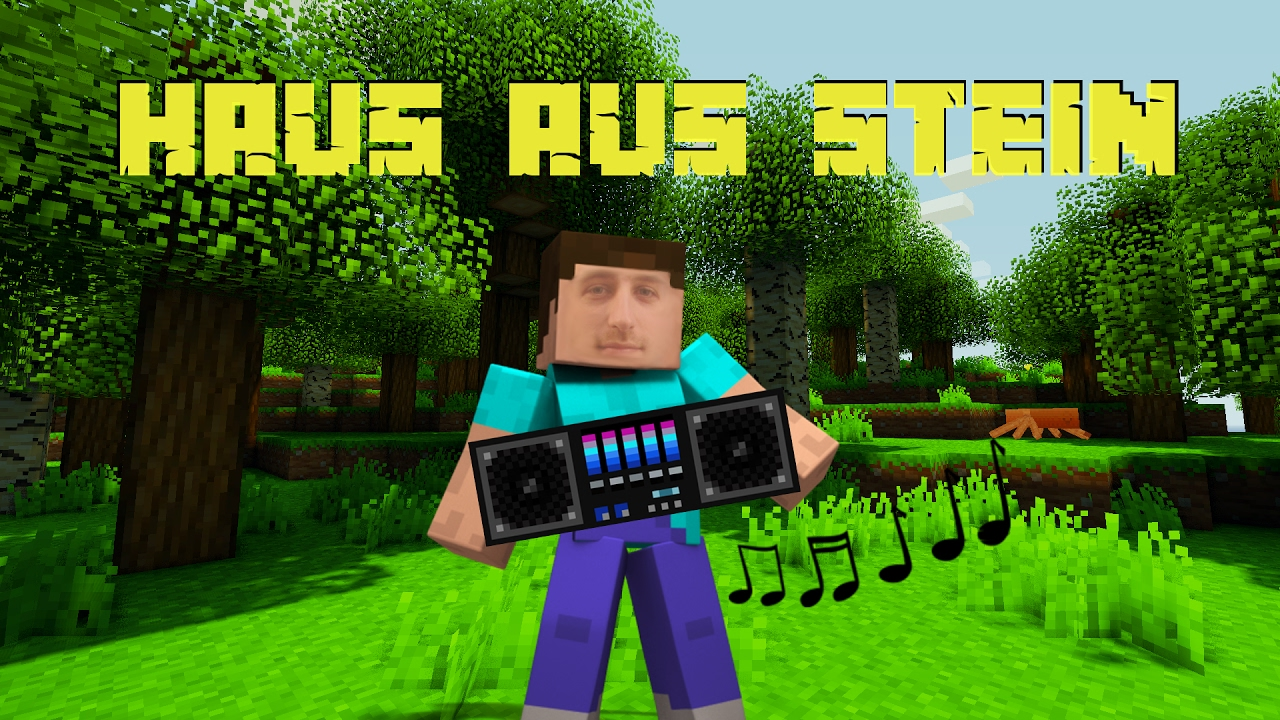 MINECRAFT Haus Aus Stein Musik Song Lied Track Hit - Minecraft hauser aus stein
