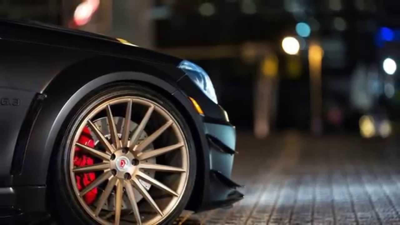 Mercedes Benz C63 Amg Black Series On Vossen Wheels Youtube
