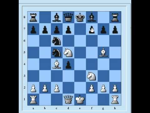 شطرنج افتتاحيه اسكوتلنديه باربع احصنه