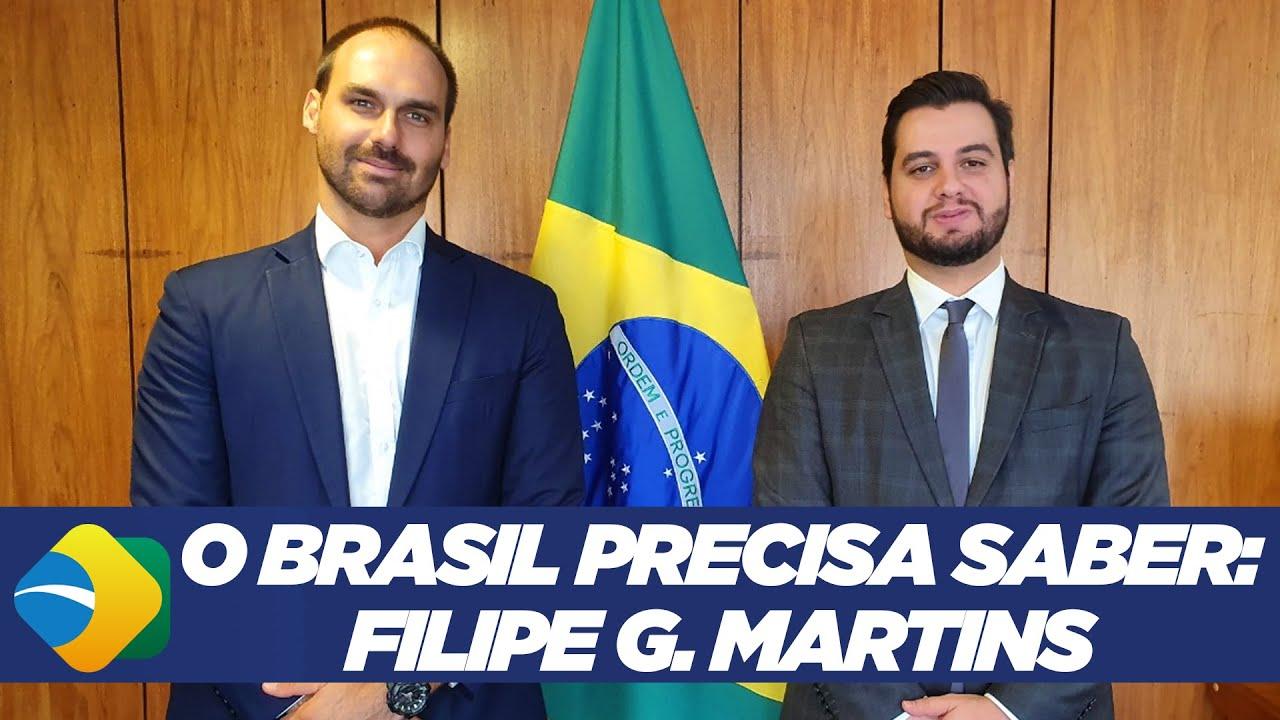 O BRASIL PRECISA SABER: Filipe G. Martins