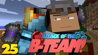 Minecraft: DIAMOND CONTEST! Attack Of The B-Team Modded Survival (25)