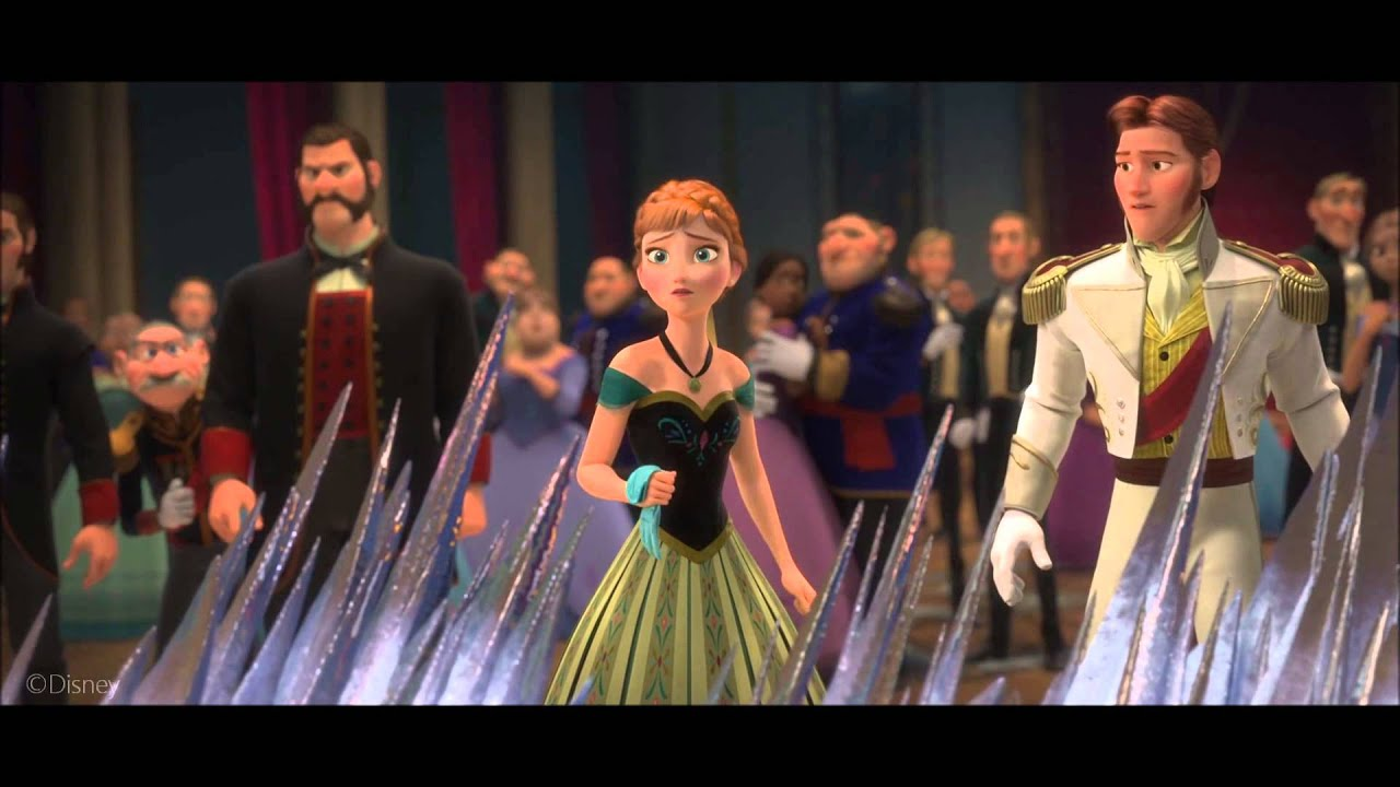 Download Frozen- Elsa Flees From Arendelle Clip (HD)