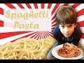 Náhled - Špagety, Těstoviny, Pasta | Recepty pro děti | Vaření s dětmi