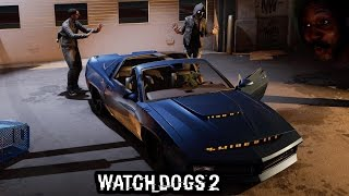 WAIT, THIS CAR TALKS TO YOU!? BAE LET ME UP INSIDE.. ..the car | Watch Dogs 2