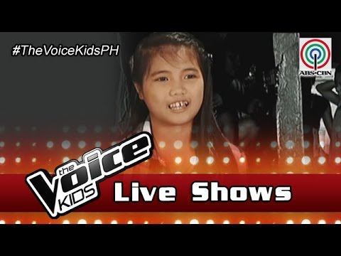 The Voice Kids Philippines 2016 Live Semi-Finals: Antonetthe of Team Sharon Journey
