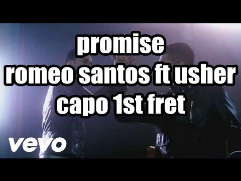 promise romeo santos ft usher lyrics and chords