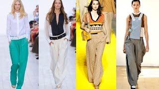 видео Весна/лето 2013: модные фасоны женских брюк