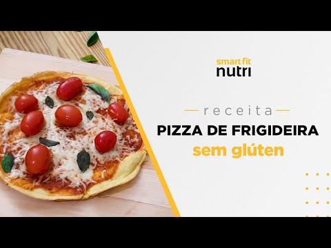 Receita de Pizza de Frigideira sem Glúten   Smart Fit Nutri