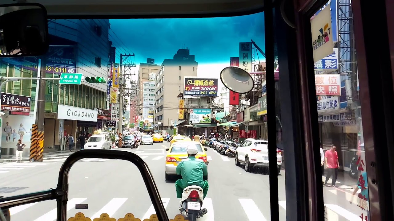 欣欣客運 251區 路程景(考試院-捷運公館站) - YouTube