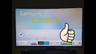 Samsung 55 inch Curved UHD MU6500 6 Series