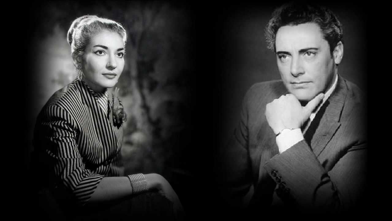 「Mario delmonaco & maria callas photos」の画像検索結果