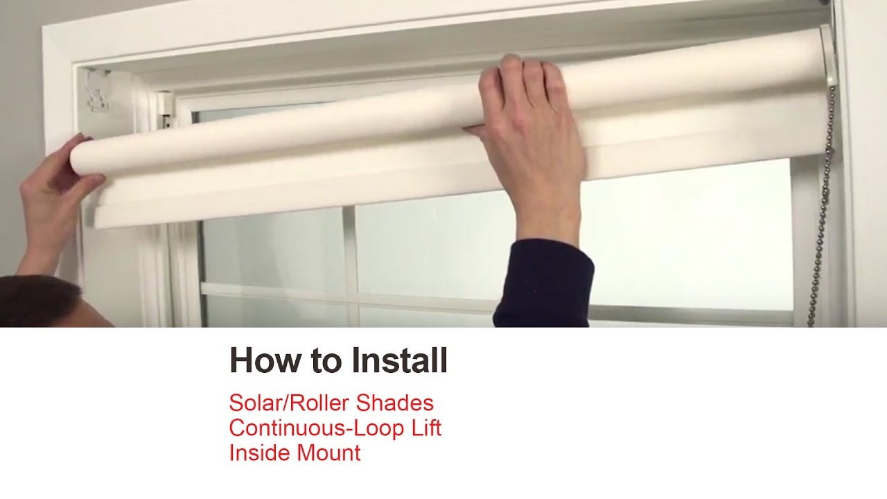 bali blinds how to install solar roller shades with. Black Bedroom Furniture Sets. Home Design Ideas