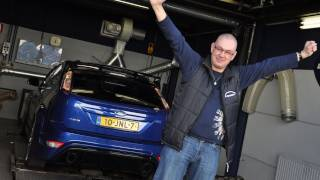 Op de rollenbank - Ford Focus RS