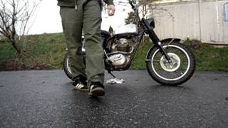 bsa victor with pwk carb