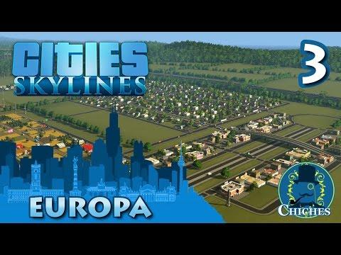 Cities Skylines - Europa - La gran Avenida  #3 en español