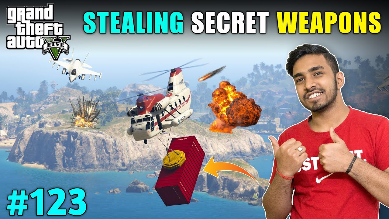 Download STEALING AIR DEFENSE FROM CAYO PERICO ISLAND   GTA V GAMEPLAY #123