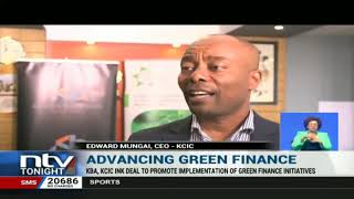 KBA, KCIC ink deal to promote green finance projects