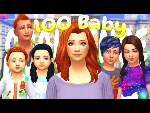 JESSIE'S CRAZY MOHAWK!!! 100 BABY CHALLENGE | (Part 89) The Sims 4: Let's Play thumbnail