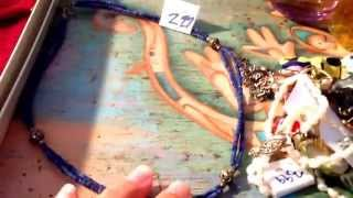 Garage sale haul, thrift haul, estate sale haul, jewelry haul #8 (May 10, 2015)