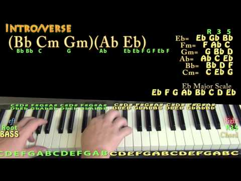 The Fix (Nelly) Piano Lesson Chord Chart