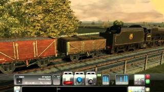 Train Simulator 2012 Steam Locomotive Gameplay