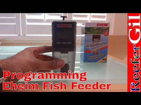 Eheim Everyday Fish Feeder Demonstration