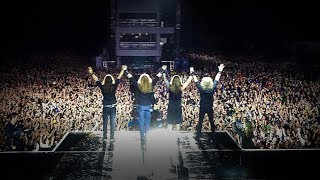 Megadeth in Mexico City - Black Sabbath, Megadeth Tour 2013