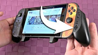 Nintendo Switch Pro Gaming Grip REVIEW - from Satisfye